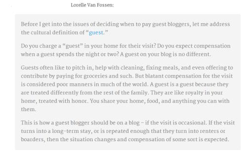 opinion sobre pago autor invitado